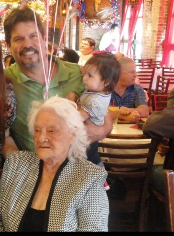 Ophelia Marie Gonzalez, affectionately known as OMG to her family, turns 109 on Thursday, October 10. (Photos provided by family)