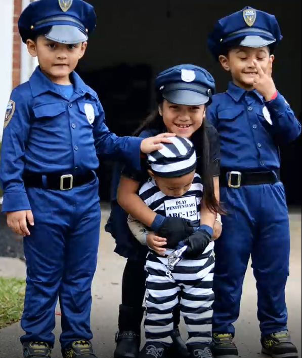 These officers can't handle this cute little prisoner - Charlynn Stephen