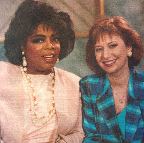Oprah Winfrey and Kim Block{ } (WGME)