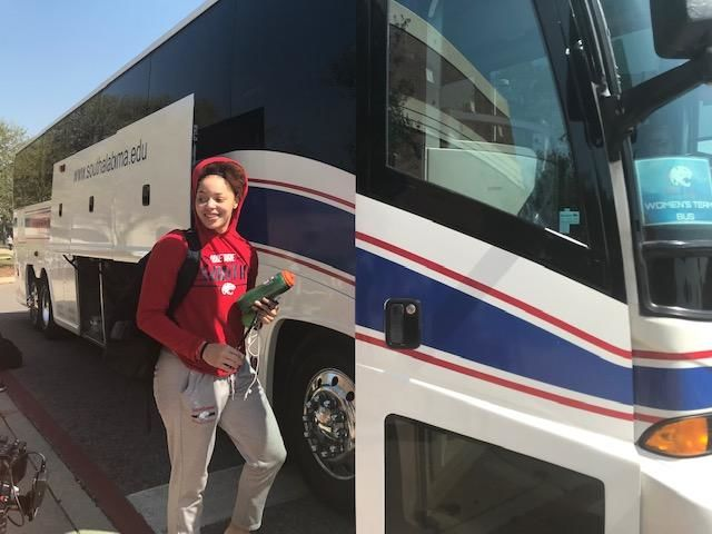 (IMG: WPMI) South Alabama's Lady Jags basketball team heads to Texas for WNIT