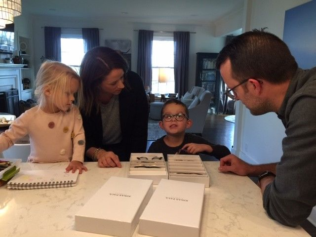 Jonas Paul, 5, was born with a rare condition called Peters Anomaly. His near-blindness inspired his parents to start a company, Jonas Paul Eyewear, which provides stylish glasses options for kids. (WWMT)