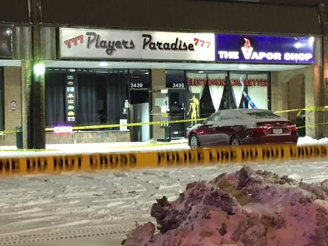 Two people were shot and killed{ } { }in the Players Paradise gaming lounge (WSYX/WTTE)