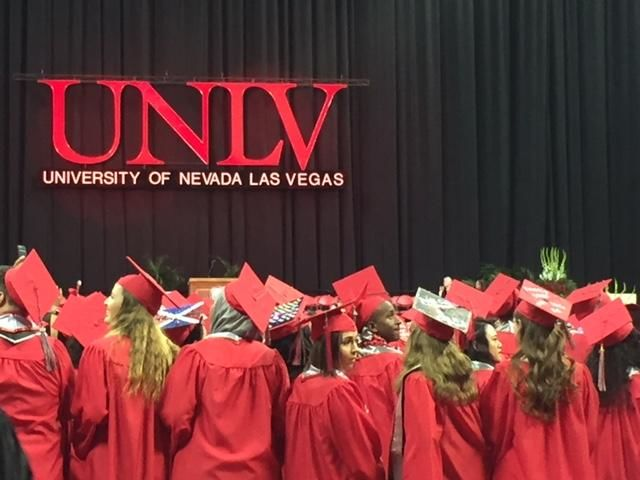 More than 3,000 students graduated from UNLV during spring commencement 2019. (KSNV)