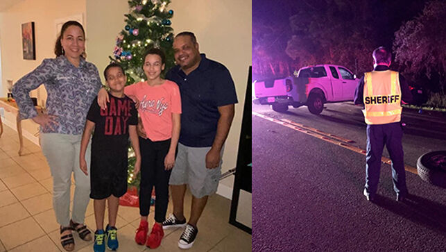 Wagner Salvador, 42, survived a crash that killed his wife Veruska, and their two children, Ashley and Albert Salvador. (Photos provided by Brian Cote| Polk County Sheriff's Office)