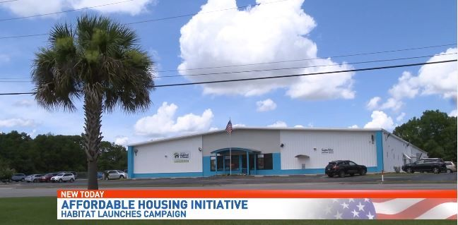 Habitat for Humanity Launches National Campaign to help 10 million people afford homes (Source: WEAR-TV)