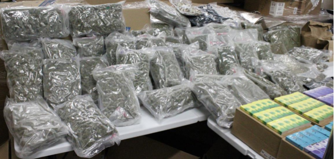 Items allegedly seized from Adam Cole's Perinton home (Photo: Ontario County Sheriff's Office)