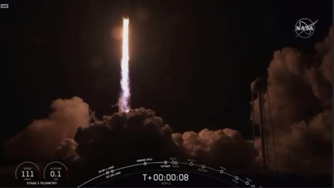 SpaceX launch. (CNN Newsource)