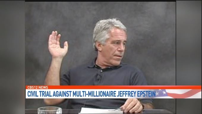 Jeffrey Epstein settles a civil lawsuit. (WPEC)