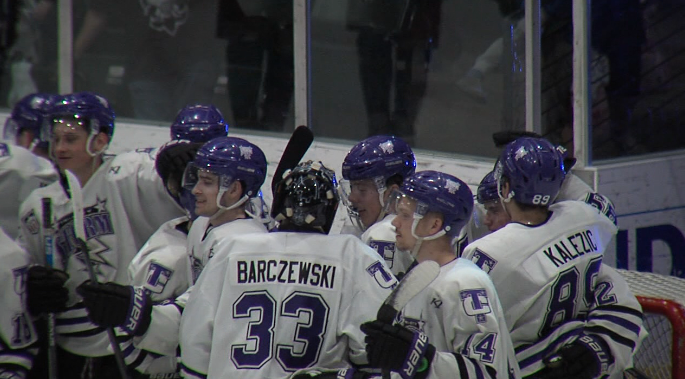 Tri-City Storm take a 2-0 series lead in the Clark Cup west semifinals after beating Des Moines 2-0 on Apr. 20, 2019. (KHGI)