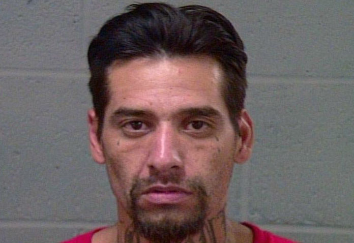 Alfredo Avila, 36, was arrested Aug. 20 in Oklahoma City on complaints of possession of a sawed-off shotgun and possession of a firearm after previous felony conviction. (Oklahoma County Jail)
