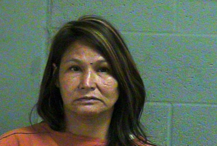 Verna LeClair, 42, was arrested June 15 in Oklahoma City on complaints of indecent exposure and public drunk. (Oklahoma County Jail)