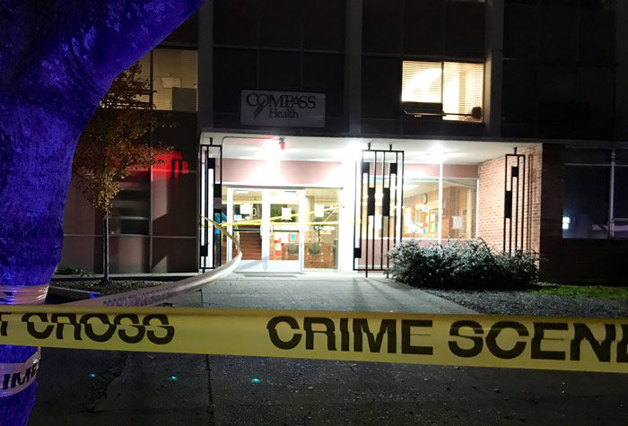 An officer-involved incident began in Compass Health when detectives served a warrant to a man. (KOMO News)<p></p>