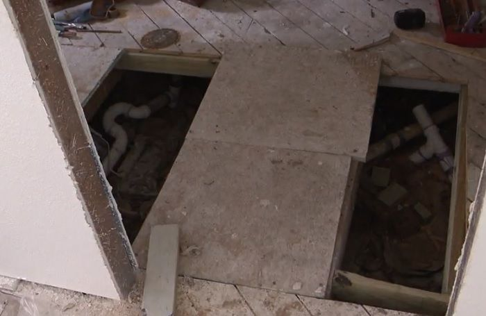 A contractor has been paid in full but stopped showing up prior to a job being completed.  (Photo courtesy: KATV)<p></p>
