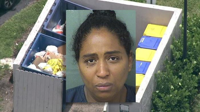 Rafaelle Alessandra Carbalho Sousa charged with attempted felony murder after deputies say she admitted to throwing her newborn girl into a dumpster in West Boca. (WSVN|PBSO)