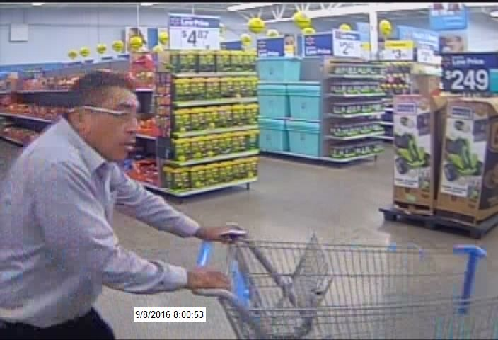 Wal-mart bandit takes off with 'baskets of merchandise' | WOAI