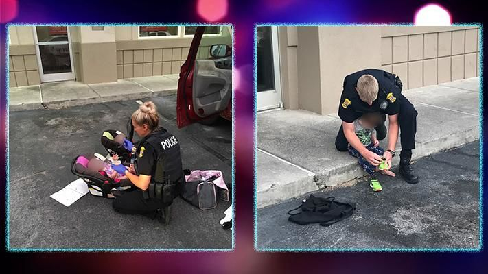 Police in Panama City arrested two individuals after finding a toddler wandering naked in the parking lot of an IHOP. (Panama City Government)