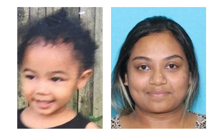 <p>Sharena Nancy is accused of kidnapping 2-year-old Nalani Johnson, who was last seen on Sep. 1, 2019 in Allegheny County, Pa. (Photo: Allegheny County Police Department)</p>