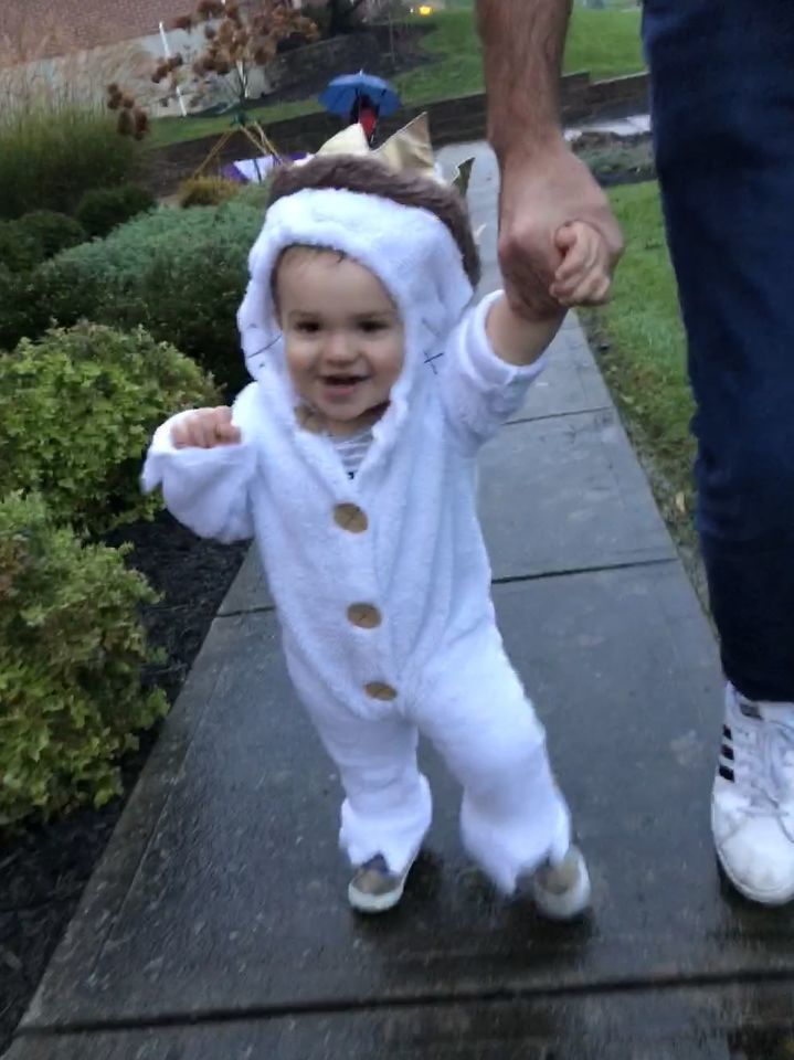 Jojo's first time Trick or Treating as Max, King of the Wild Things! - Amanda Emmons Shumate