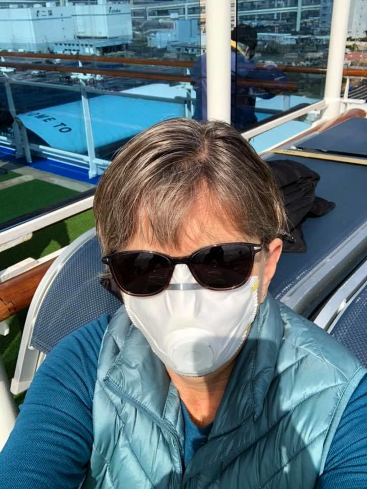 Wanda Schuler of Red Bluff spent some time on deck Wednesday, Feb 12 (Courtesy Wanda Schuler)<p></p><p></p>