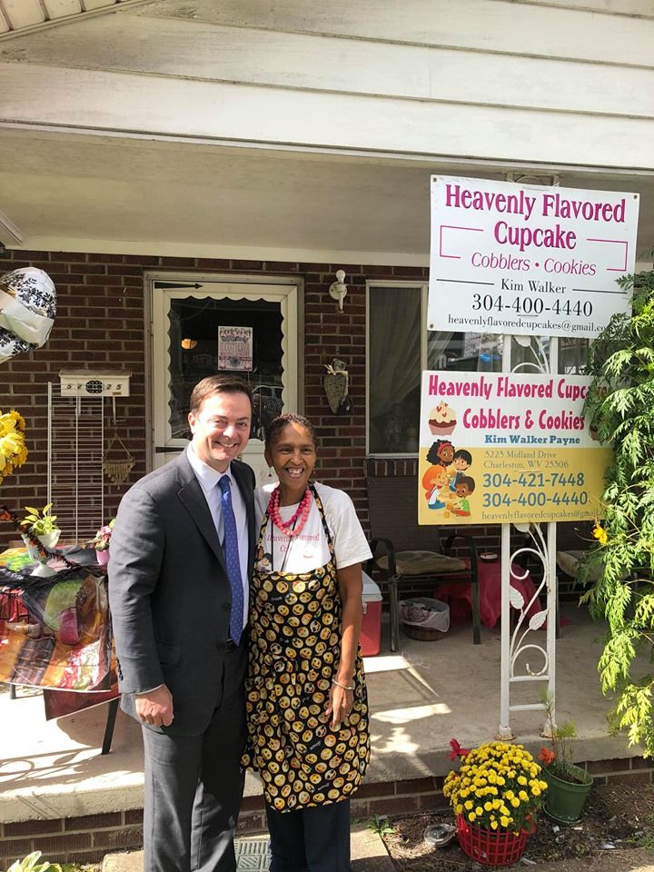 "A ribbon cutting was held Thursday for ""Heavenly Flavored Cupcakes, Cobblers, and Cookies."" (Kanawha County)<p></p>"