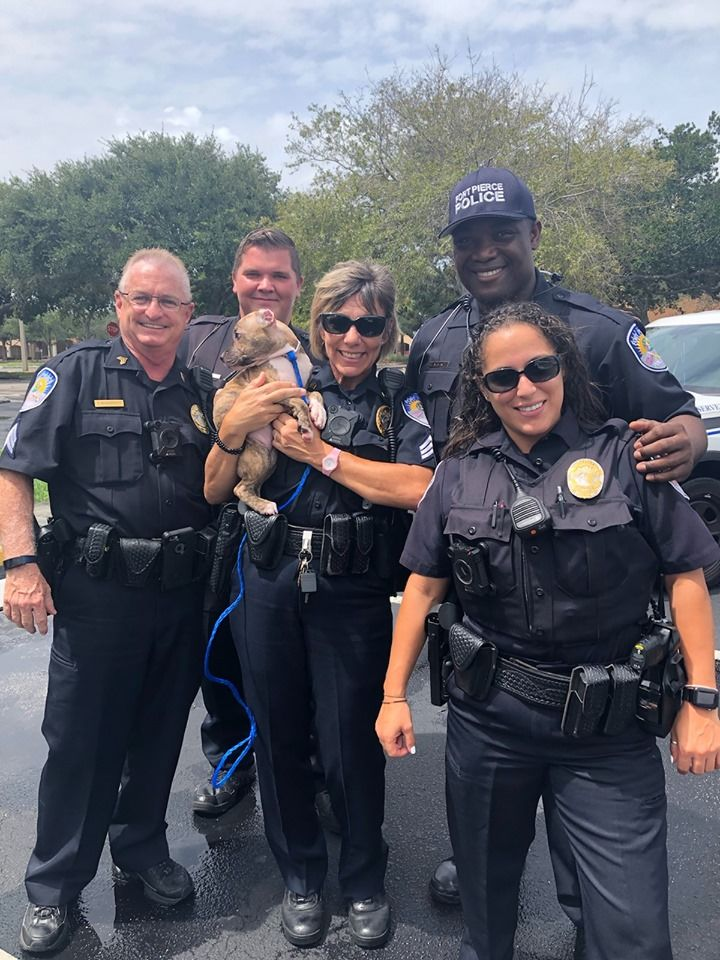 Fort Pierce police make first Hurricane Dorian rescue (Fort Pierce Police Department){ }