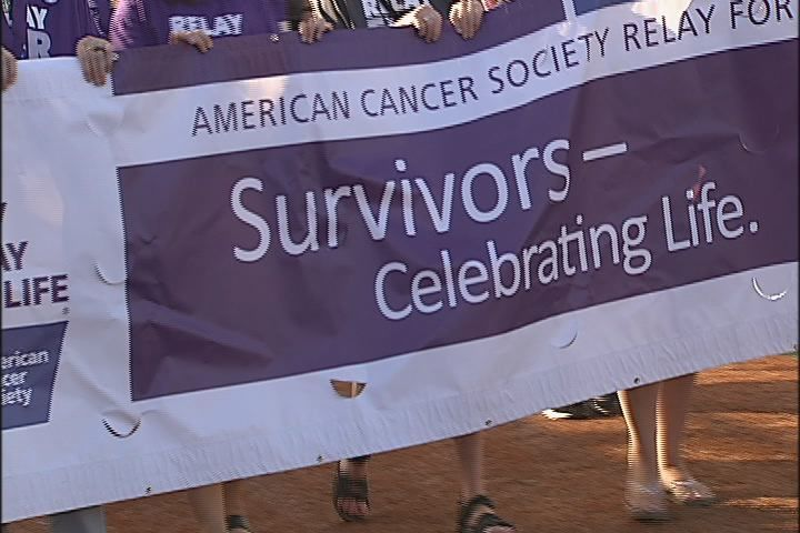 Eugene/Springfield Relay for Life participants wrap up 2019's event in Eugene, July 13, 2019. (SBG)