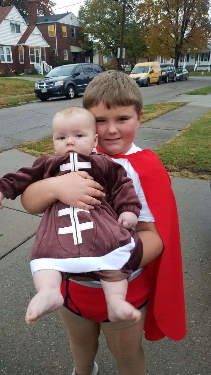 Captain Underpants and Our little football - Beth Niewahner