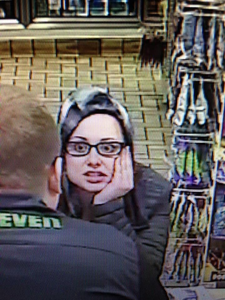 The Summit County Sheriff's Office is seeking the public's help identifying a woman who has possible connections to a burglary and fraudulent credit card activity. (Photo courtesy of the Summit County Sheriff's Office)