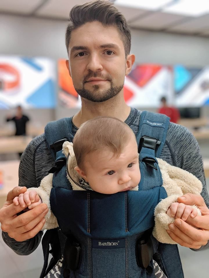 """I love my kid and I want him to live a long and healthy life,"" Yuriy Stasyuk said. ""The sad reality is for many (Russian) people nothing scientists say or do will ever help. It will take a couple of their children getting really sick, or even dying, before they will change their mind."" (Photo: Yuriy Stasyuk)"