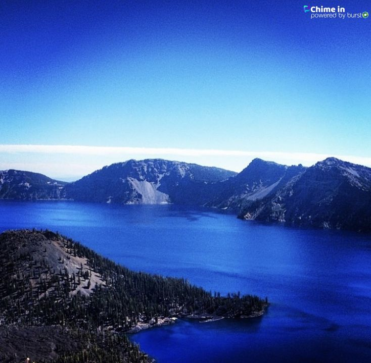 Anna Henry shared photos from Crater Lake National Park via the Chime In tab on our website. IF YOU GO: Share your best Crater Lake videos and photos via Chime In so we can share them online and on TV!