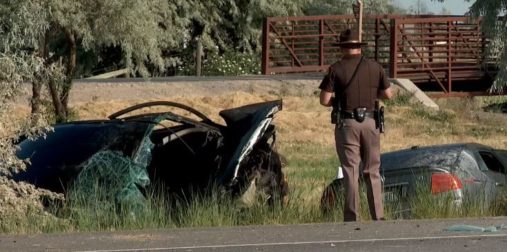 In June of 2018, a 37-year-old father was killed when a teenager crossed from the northbound lane, hitting his car traveling south head-on. (FILE photo courtesy Utah Highway Patrol)