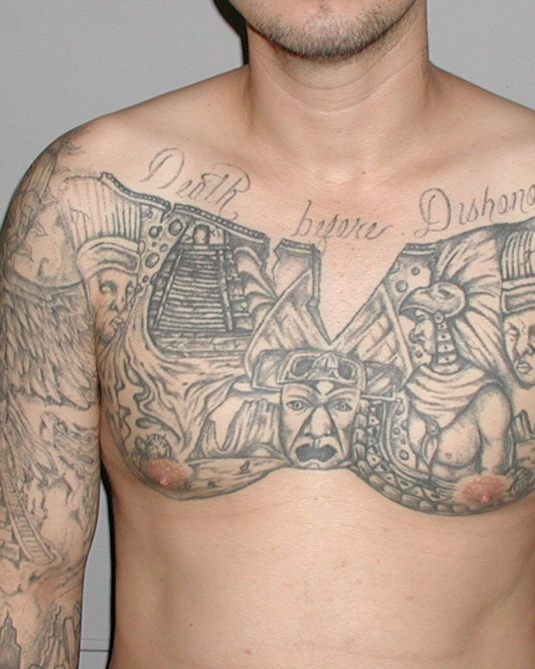 George Floyd Chest Tattoo: Marshal's Most Wanted: Alfredo Gonzales