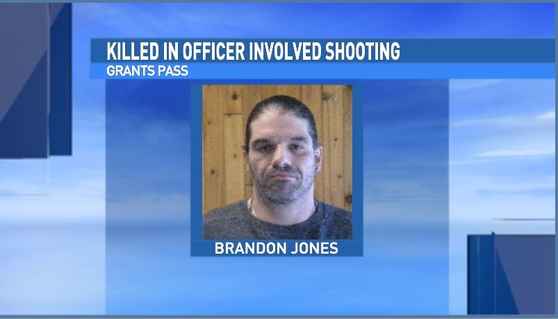 Pictured is Brandon Jones, the suspect killed in an officer-involved shooting Tuesday morning at Oregon State Police offices in Grants Pass. (Courtesy Sex Offender Registry)