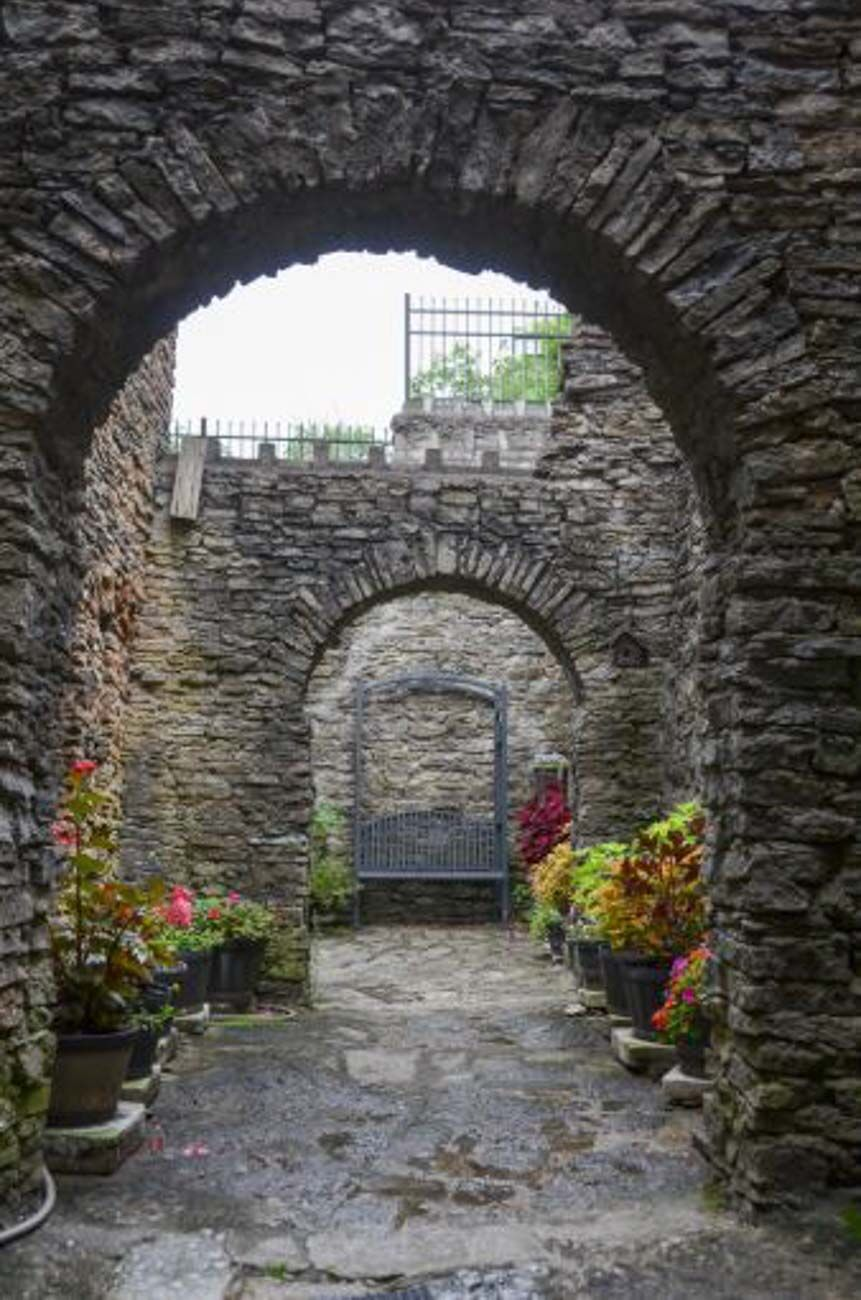 Guests can now tour and rent the space which features a banquet hall, armory, watchtower, and a dungeon, all of which are decked out in medieval memorabilia. Castle volunteers have many tales of ghost experiences, including a mischievous one they've attributed to being Harry himself. Workers have reported items going missing, doors slamming, and other strange occurrences that they chalk up to the shenanigans of the former owner. A woman in white and a Viking carrying a sword are some other ghostly characters seen there. / Image: Sherry Lachelle Photography // Published: 10.17.20