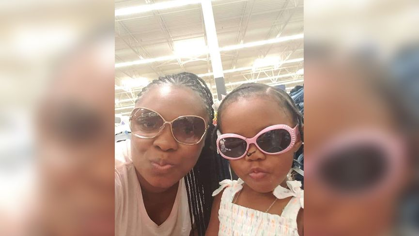 Nerissa Distin and her two-year-old daughter Serina Morris were killed in a fire in southeast Columbus on New Year's Day. (Family member)