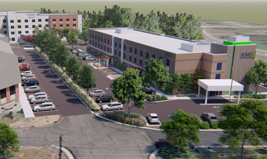 Another new hotel may be coming to Grand Blanc Township. (Rendering provided by Mark Lloyd){ }