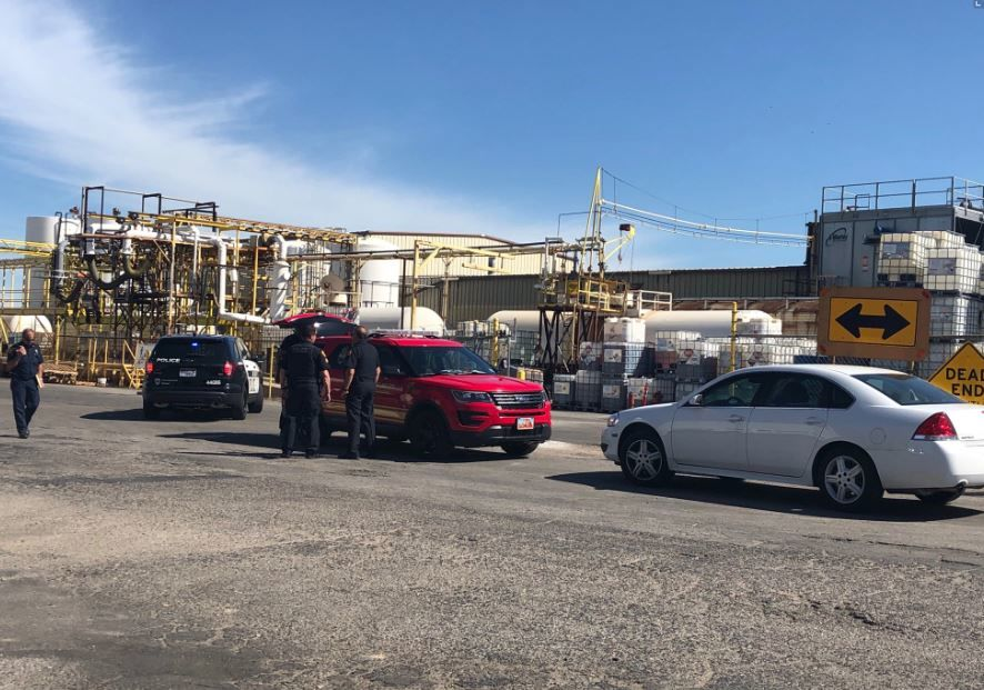 Local businesses right next to the Thatcher Chemical plant saw all the chaos unfold Wednesday morning when a toxic chemical spilled. (Photo: KUTV FILE)
