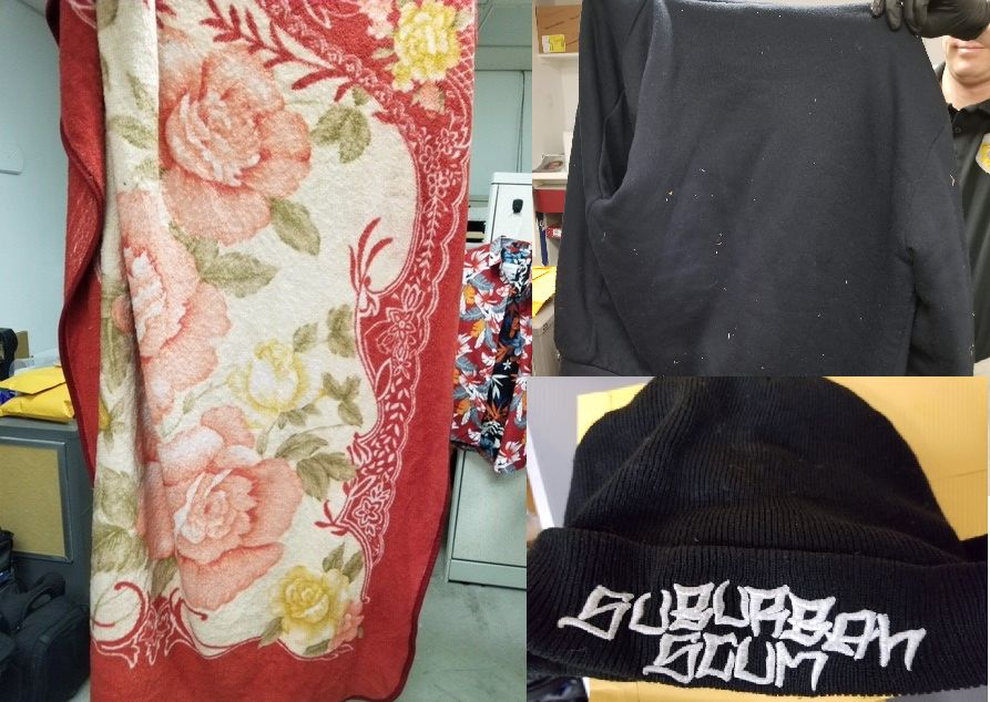 Clothing possibly used by a kidnapping suspect. (Photo: Tooele Police Department)