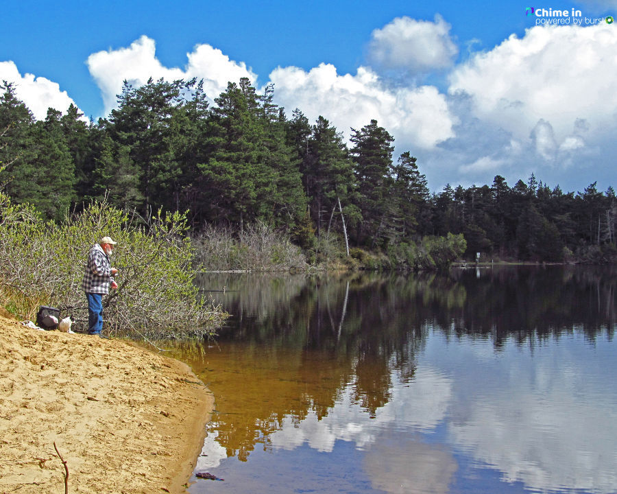 Debbie Tegtmeier shared Free Fishing Weekend photos via CHIME IN from various locations on the Oregon Coast, including Winchester Bay, Tugman Park, Saunders Lake and Empire Lakes. Share YOUR videos and photos via the CHIME IN tab on our website.