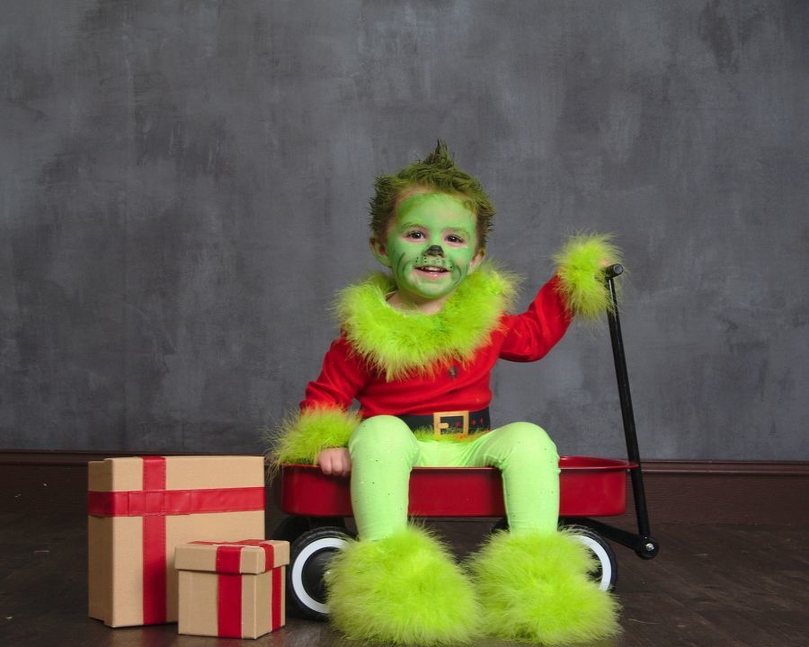 The sweetest grinch you'll ever meet! - Kaitlin Kenney