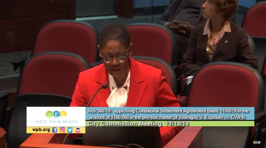 West Palm Beach city commission meeting (City of West Palm Beach)