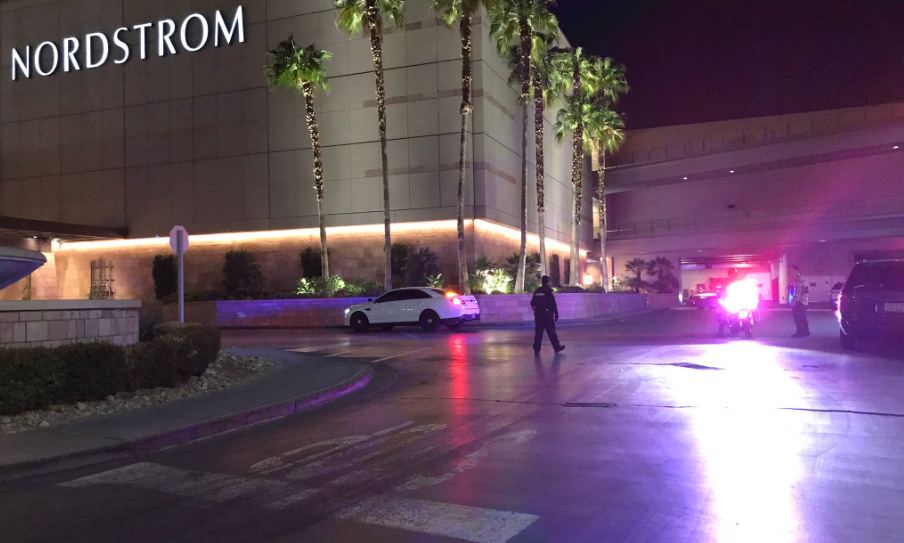 Police responded to a shooting at Fashion Show Mall Tuesday night. (KSNV){&nbsp;}<p></p>