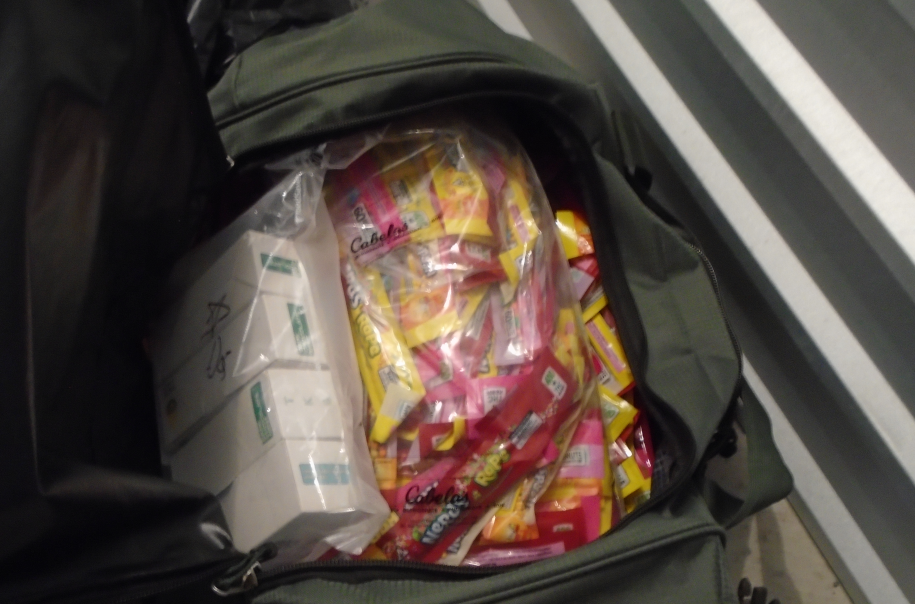 A recent local drug bust turned up hundreds of Nerds Rope edibles, each of which contained 400mg of THC. (JPD)