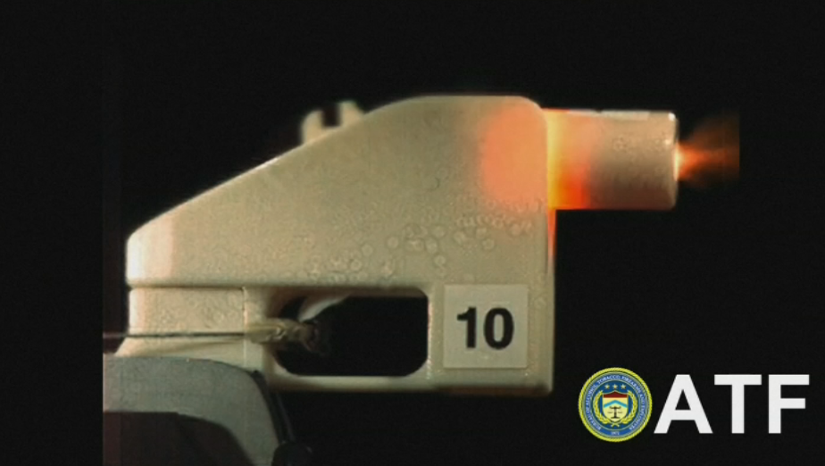 3D printed gun (Courtesy of ATF)