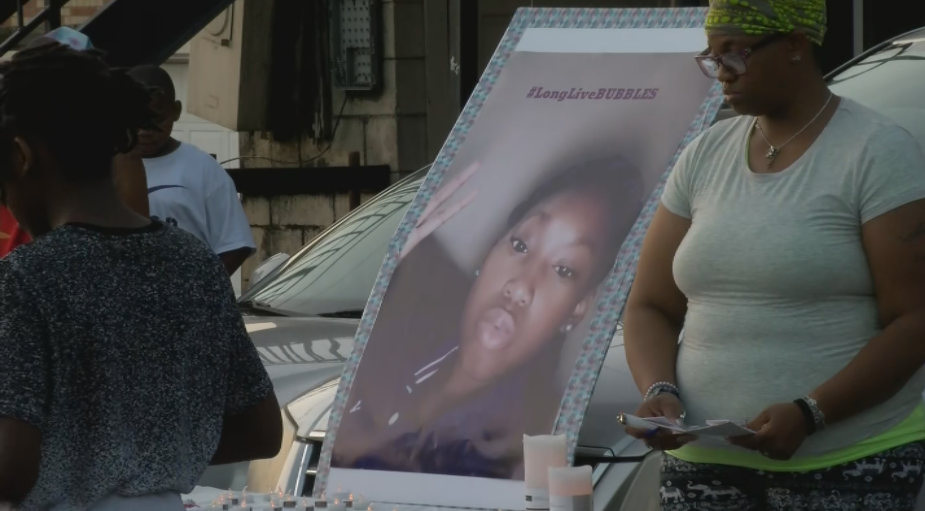 Dozens of family and friends of 11-year-old Ri'ajauhna gathered to remember her Monday in Jefferson City after she was shot and killed in a double homicide in Columbia. (File)