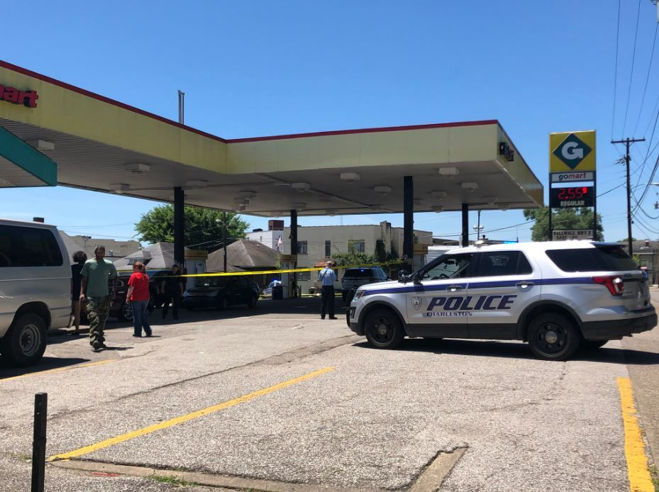 <p>Charleston police are investigating a shooting that took place at a Go Mart on the city's West Side. (WCHS/WVAH)</p>