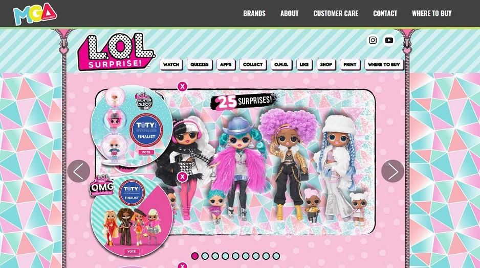 Study: L.O.L. Surprise Dolls most popular toy in Ga, Play-Doh most popular in SC. (Credit: L.O.L Suprise! Website)