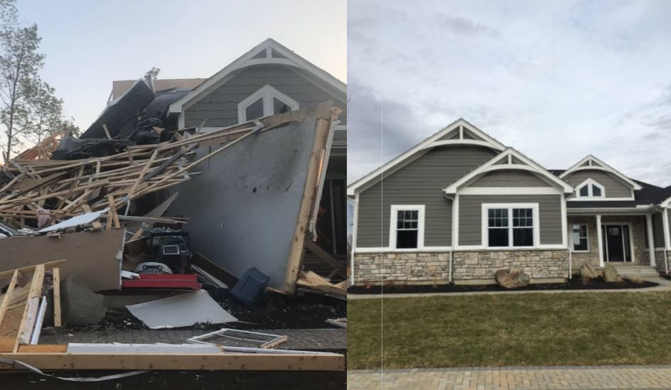Family moves back into home six months after tornadoes (provided to Local 12)