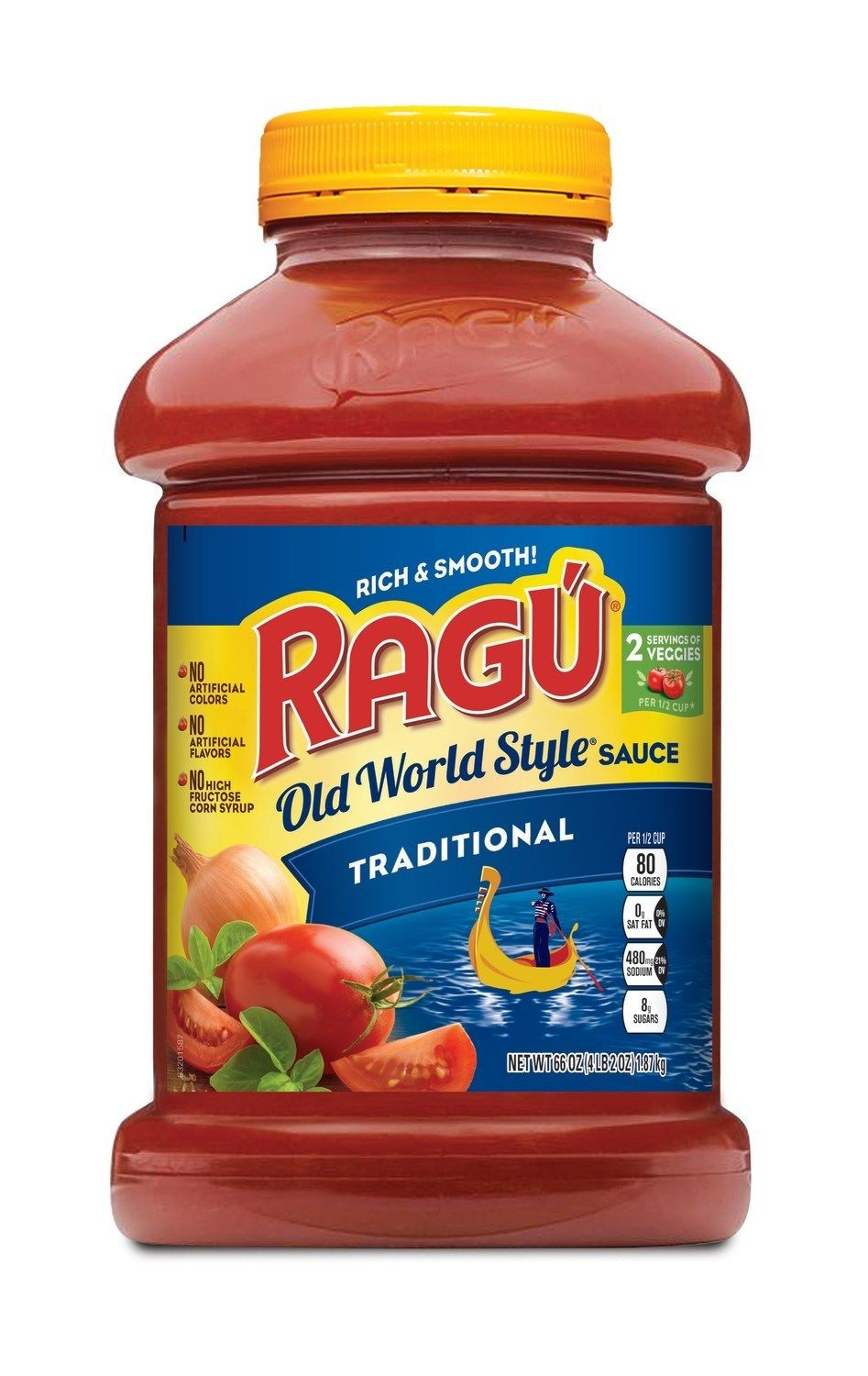 RAGU Old World Style Traditional 66oz Jar (PRNewsfoto/Mizkan America, Inc.)