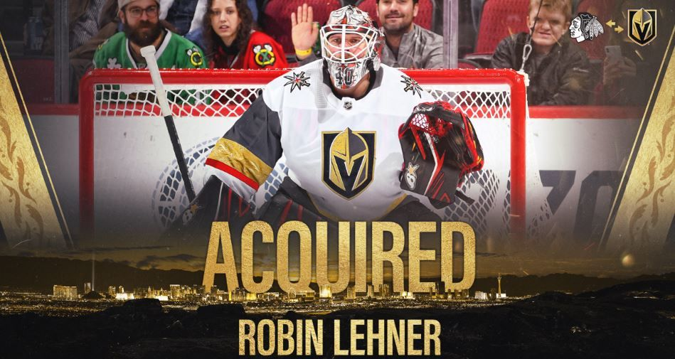 'The Panda' Robin Lehner makes VGK practice debut, UNLV's Hardy asks for fan support